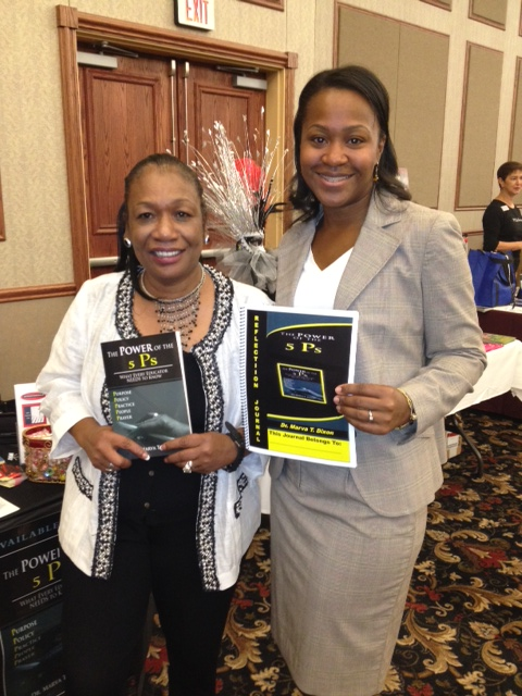 with Dr. Dixon at book signing